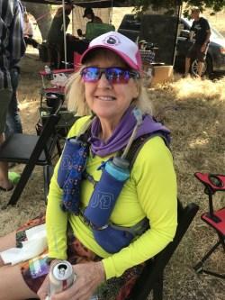 Claudia, my fellow early start 100 miler