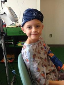 Jeremy at UNC Children's Hospital