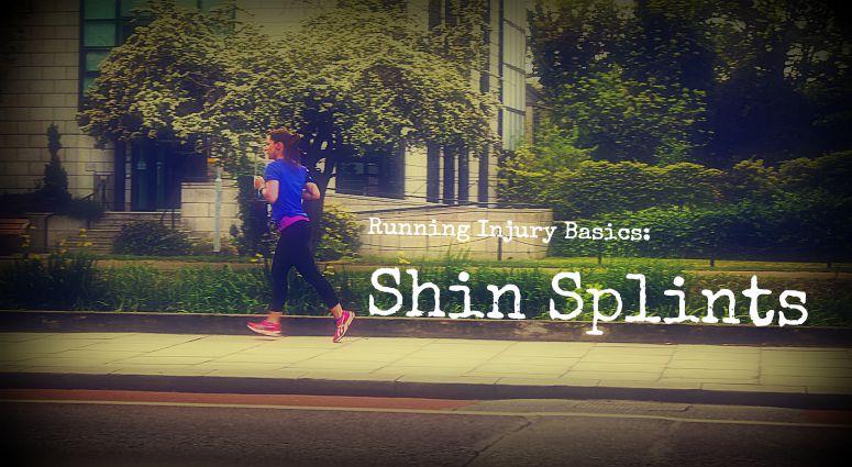 woman jogging shin splints