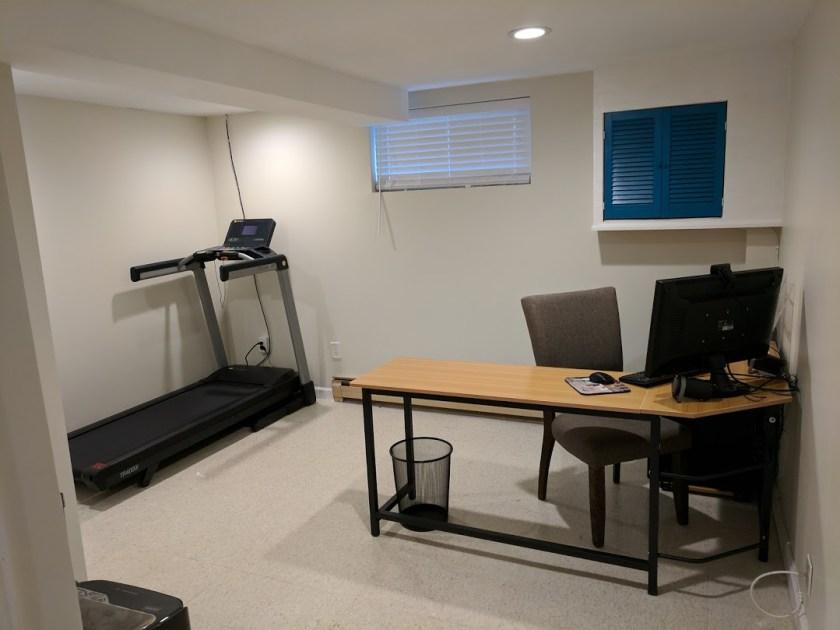 Treadmill & Office