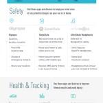 Running Safety Graphic Seguridad al correr durante el otoño | TheRunnerDad