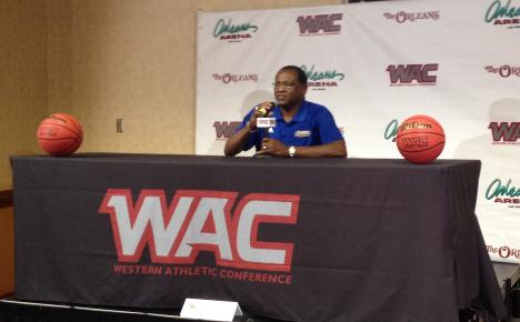 Roadrunners ranked third as WAC members converge for basketball preview