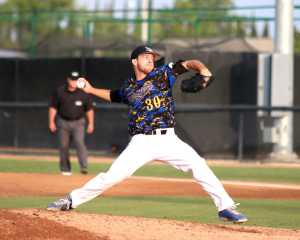 Senior Pitcher Hayden Carter picked up his 4th win of the season on his 3rd complete game Friday night at Hardt field as CSUB defeated Texas Pan-American 5-1