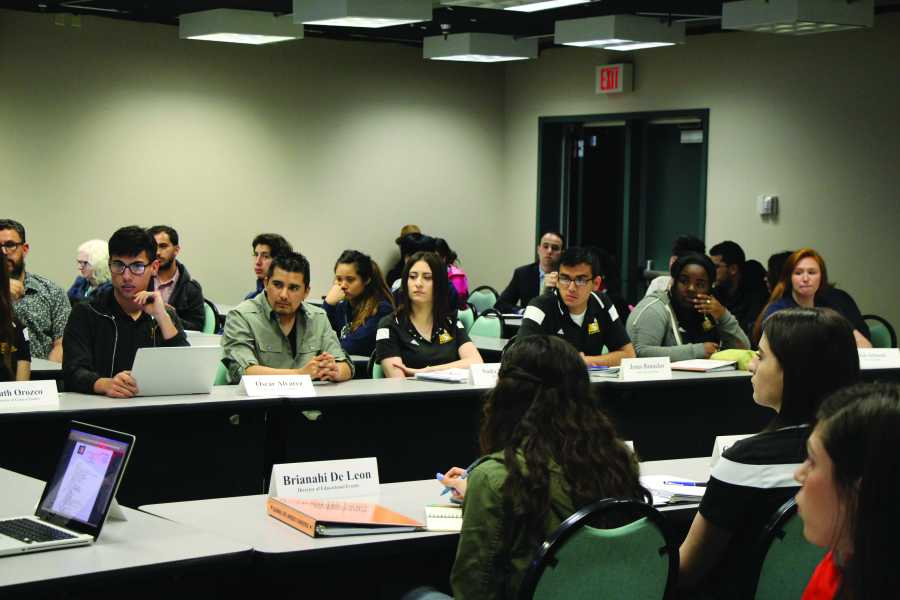 The ASI board approved the changes to its bylaws on March 11. Photo by Chris Mateo/The Runner