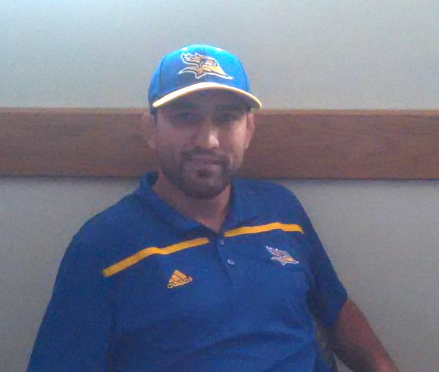 Manny+Rivera+is+the+fourth+head+wrestling+coach+in+CSUB+history.%0APhoto+by+Esteban+Ramirez%2FThe+Runner