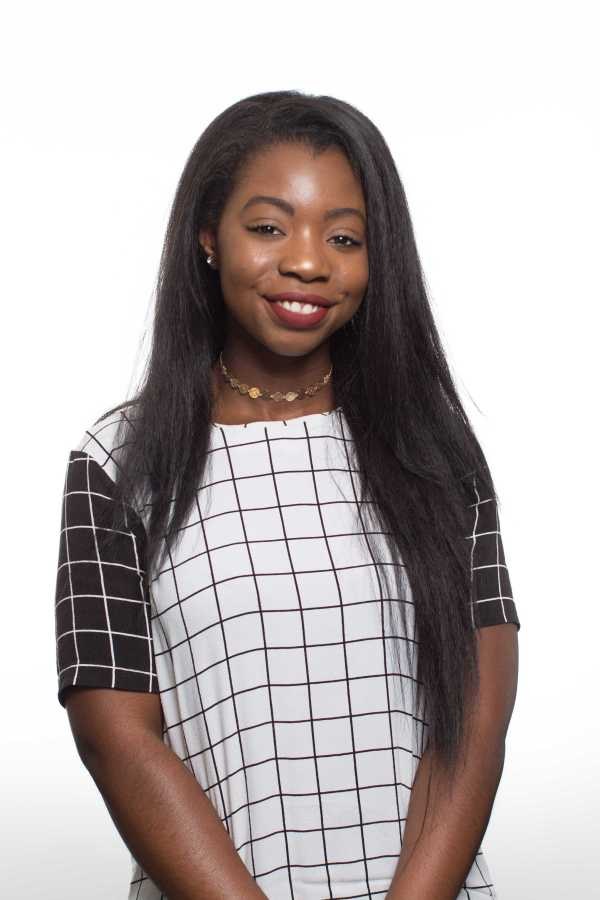 Executive Vice President candidate Precious Nwaoha. Photo by Christopher Mateo