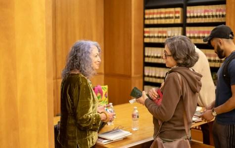 Poet Dixie Salazar visits Walter Stiern Library
