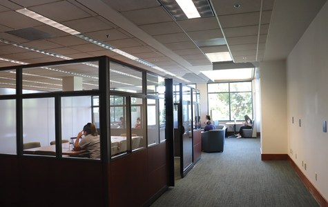 Second foor renovation adds needed study space in library