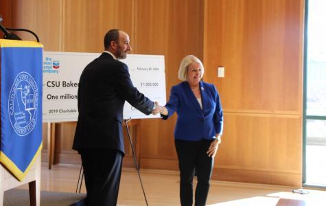 CSUB receives million-dollar gift from Chevron