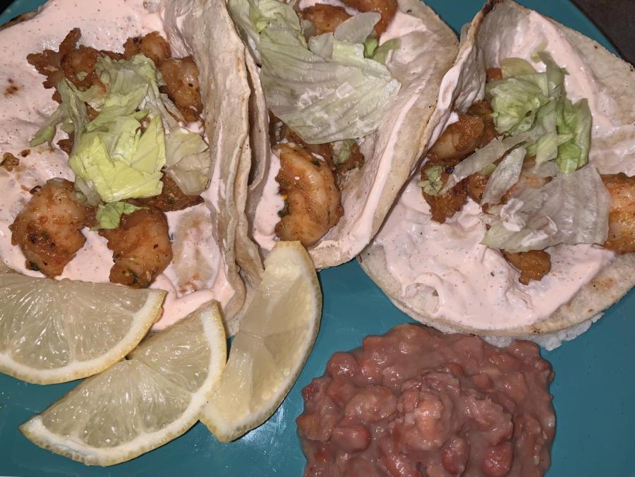 Runner recipe: Hot shrimp tacos
