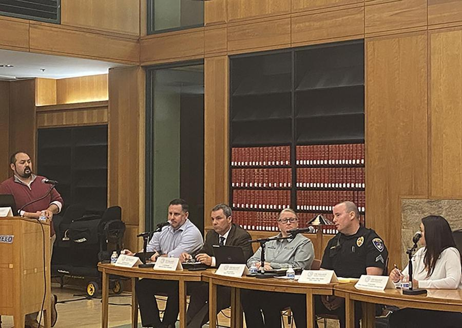 Bakersfield Police Department holds gun violence prevention panel at CSUB