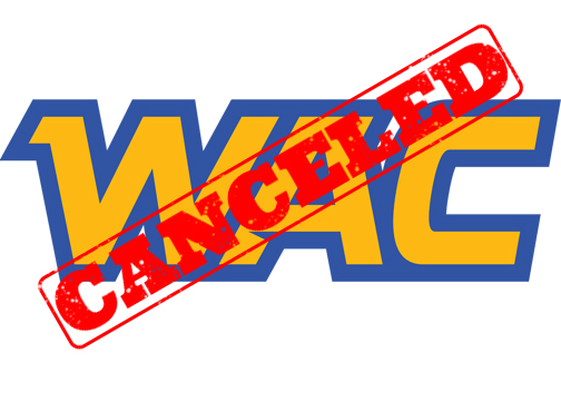WAC commissioner suspends all sporting events