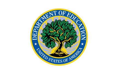 U.S. Department of Education flag - source U.S. Department of Education website.
