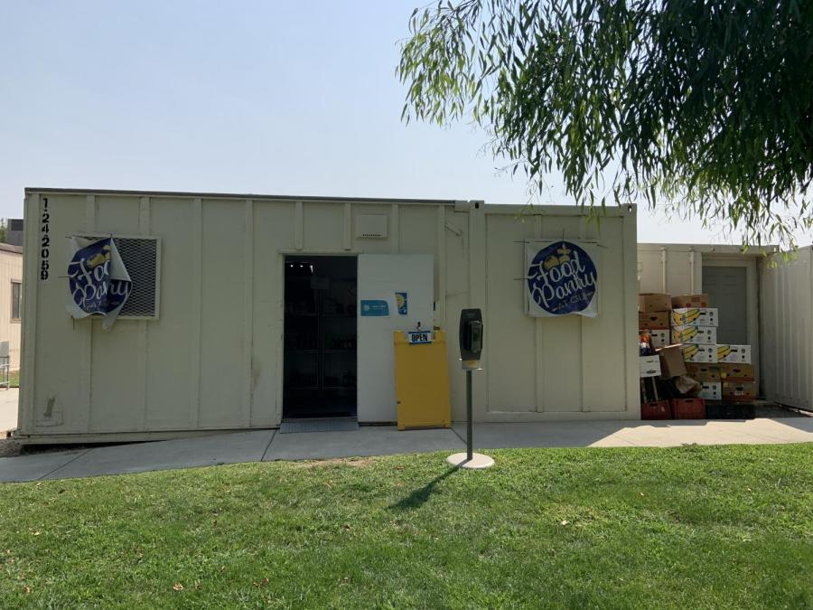 Figure 1: Food pantry from the outside. The Food Pantry is located next to the student union.