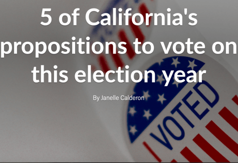 Five California propositions: What you need to know