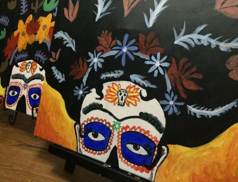 Runners come together virtually for Dia de los Muertos Paint Night