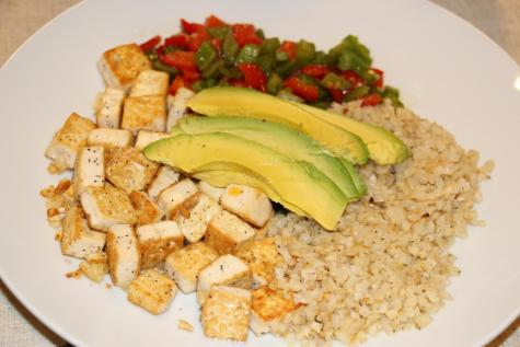 Runner recipes: Tofu and cauliflower rice