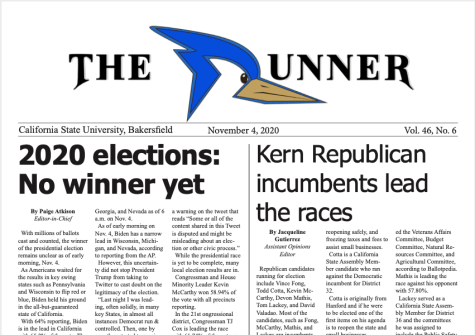 Nov. 4, 2020 Issue of The Runner