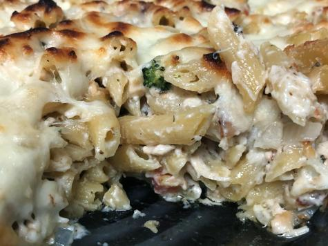 Runner recipes: Leftover turkey penne bake