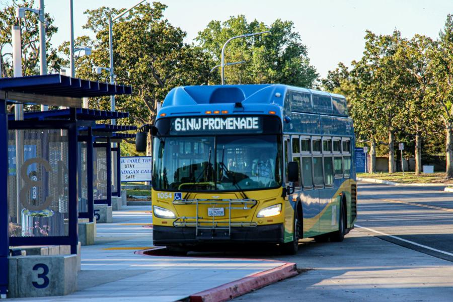 The new GET Bus transit stations at CSUB will provide additional room for transportation for the campus