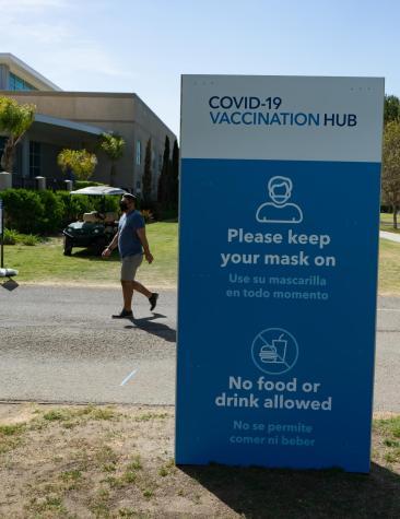 CSUB Mass vaccination hub