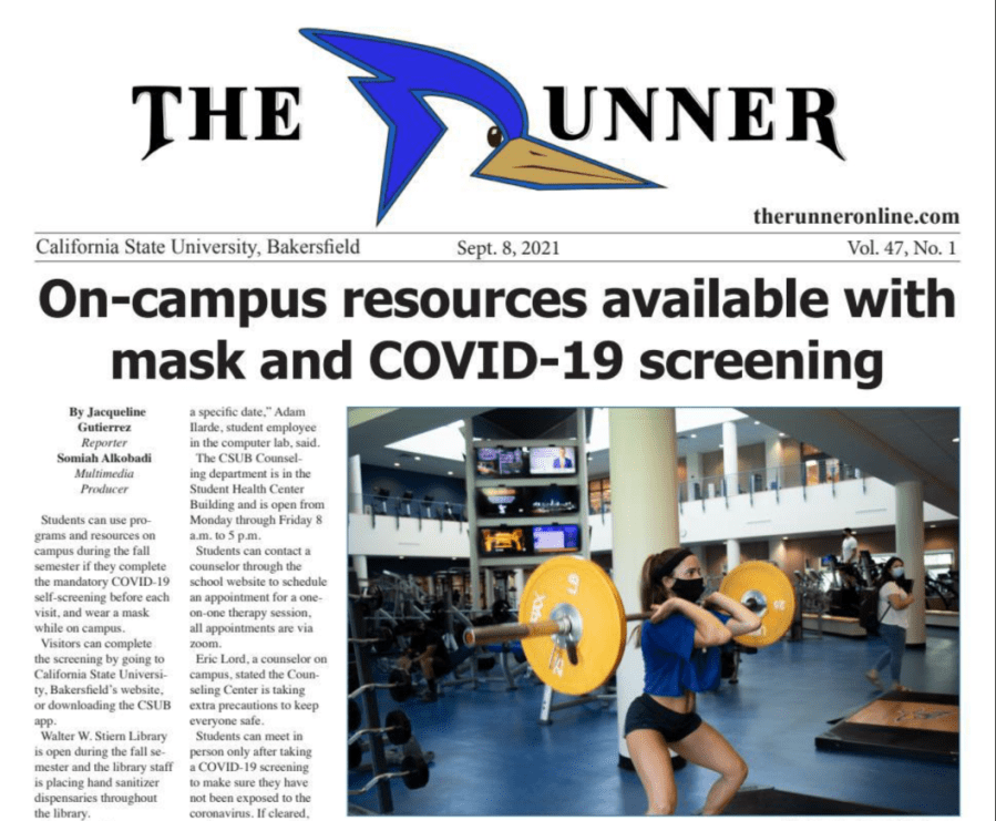 Latest Issue: Screenings, vaccines and masks required for a return to campus