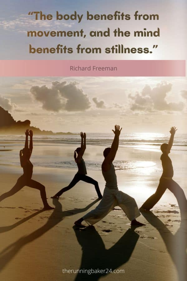 morning yoga routine to energize your day -poster