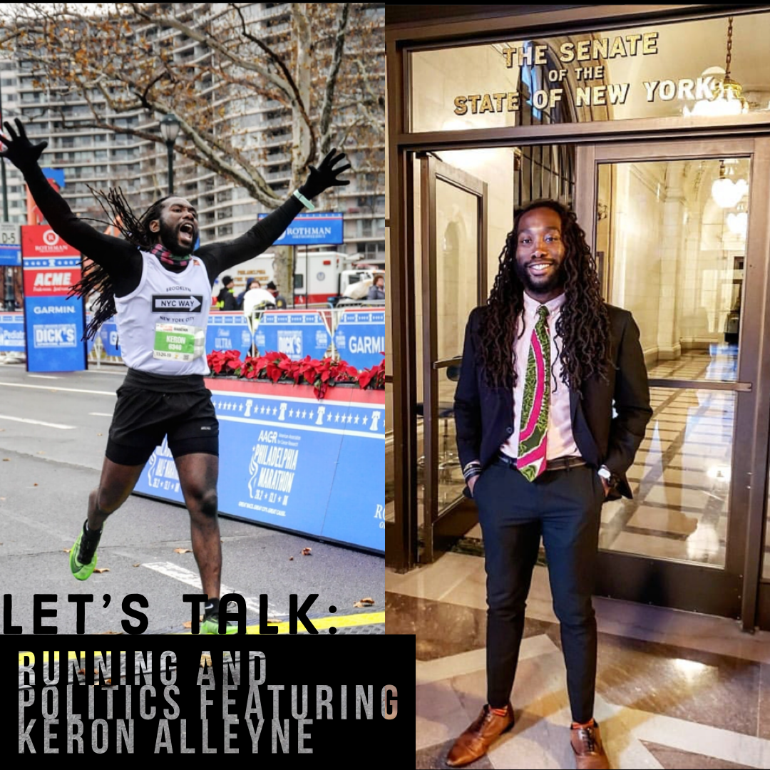 Lets Talk: Running and Politics featuring Keron Alleyne
