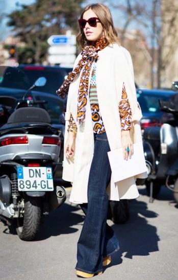 fall-capes-ponchos-flare-jeans-fall-prints-boho-prints-platforms-tie-neck-blouse-style-du-monde