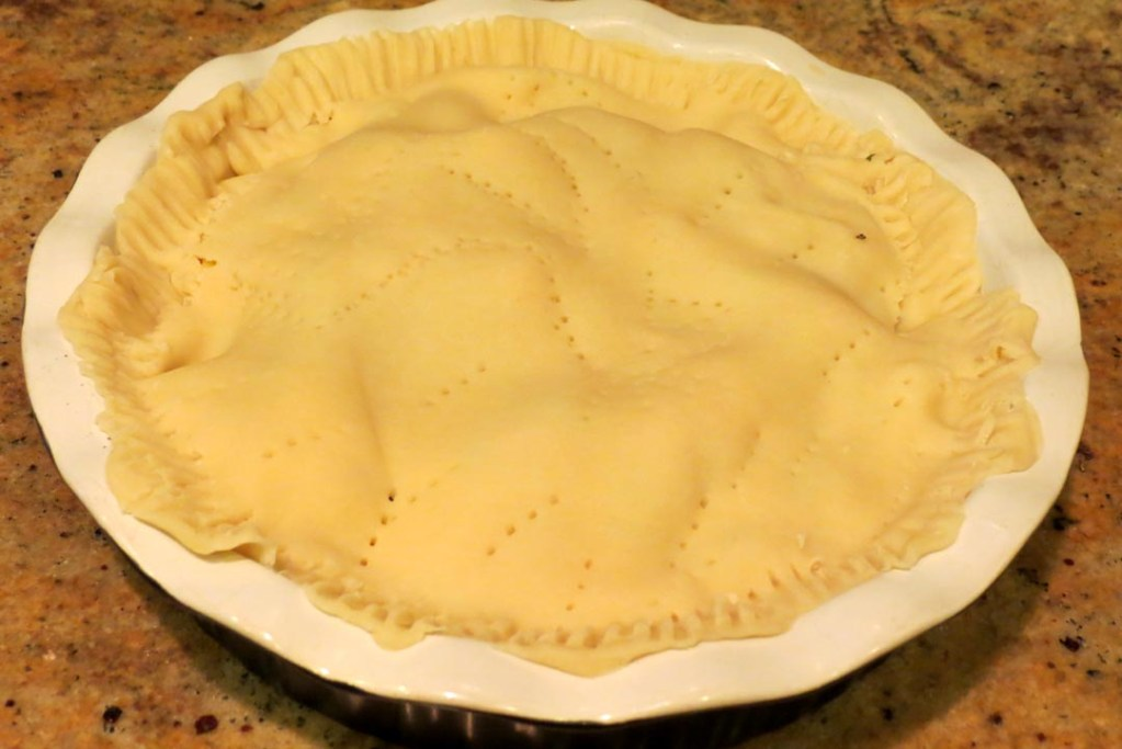 pie befor going into the oven