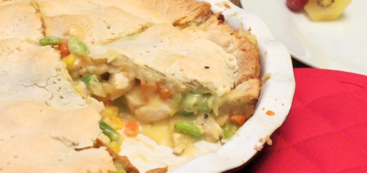 served pie