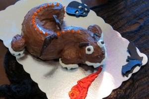 dragon cake 2