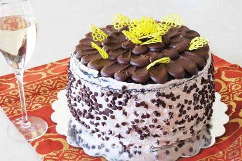 chocolate cake I made