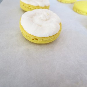 filling with icing