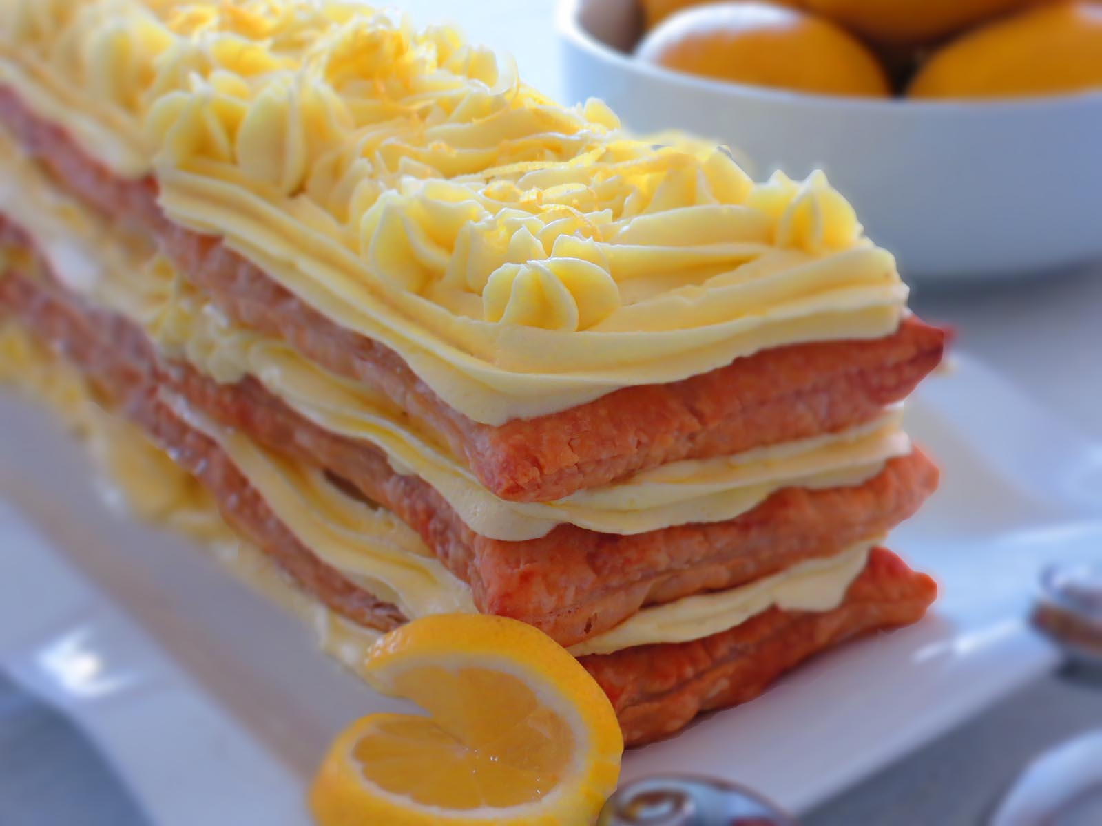 lemon-napoleon-cake