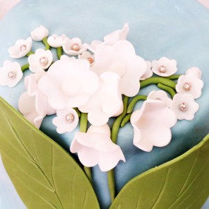 valley lily cake
