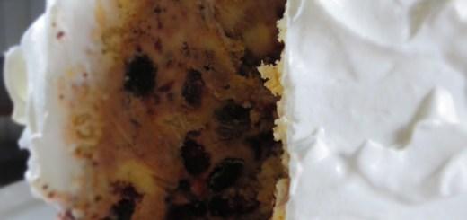 rum raisins ice cream cake