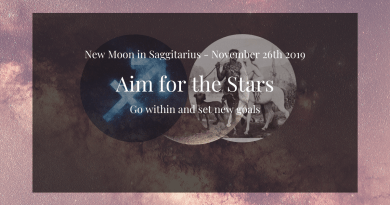 New Moon in Sagittarius 2019