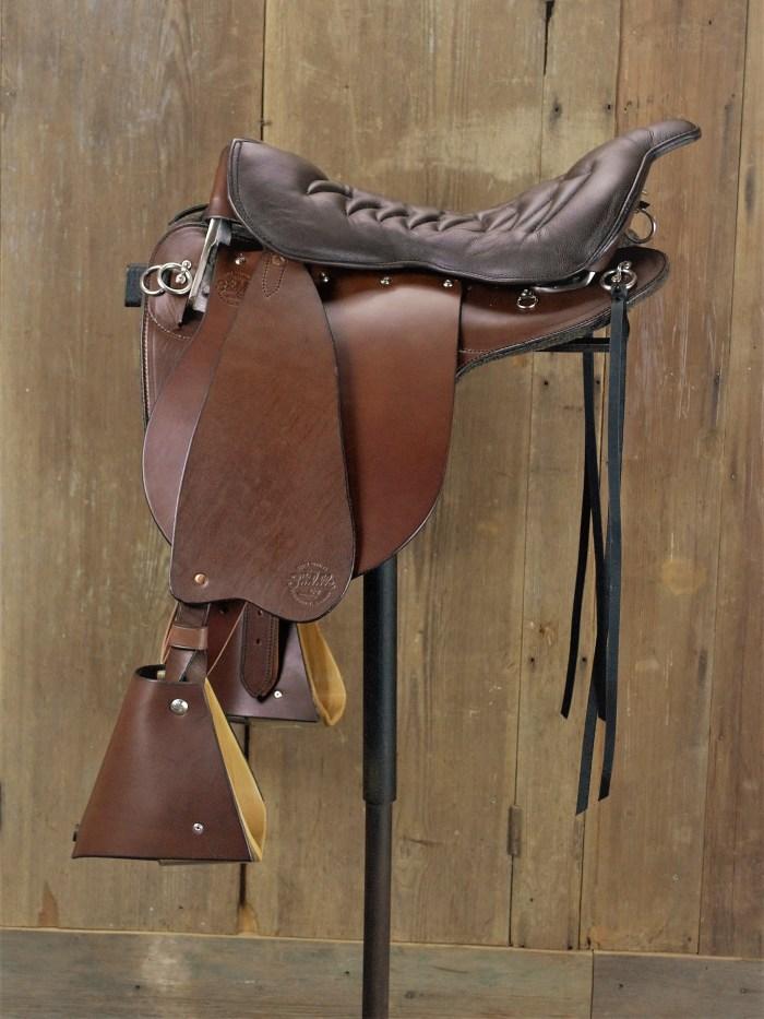 Rich Brown Premium Trooper Saddle