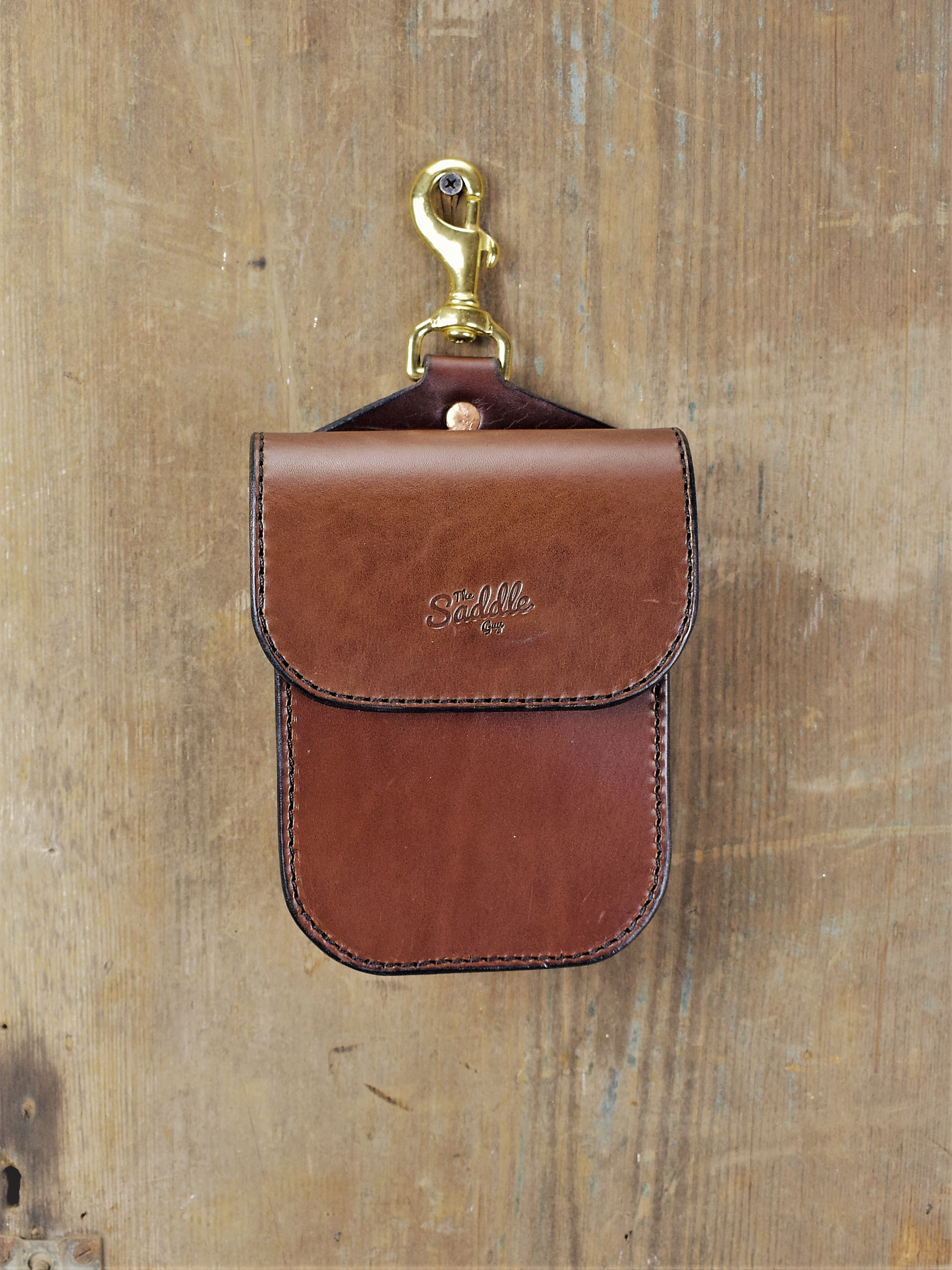 Improved Small Single Saddle Bag handcrafted by The Saddle Guy