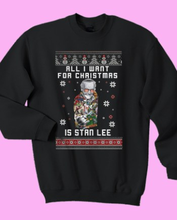 All I want for christmas is stan lee