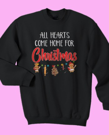 All hearts come home for Christmas ugly
