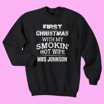 First christmas with my smokin hot wife MRS johnson