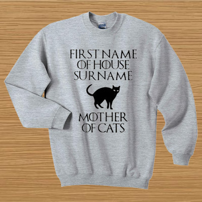 d0b42b89cef3 Game of Thrones First name of house surname mother of cats ...
