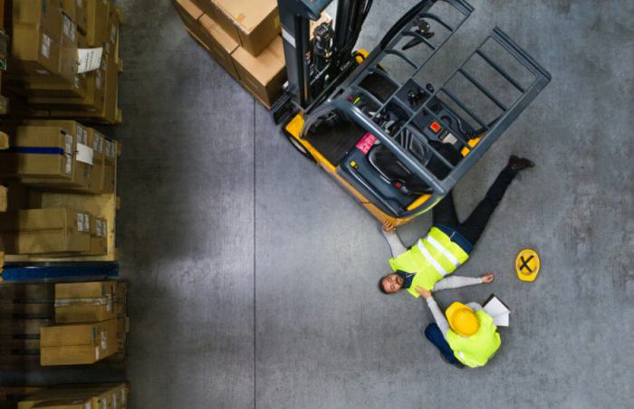 forklift accidents in the workplace