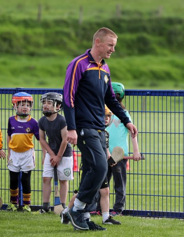 Former Armoy and Antrim hurler Seamus Bailey