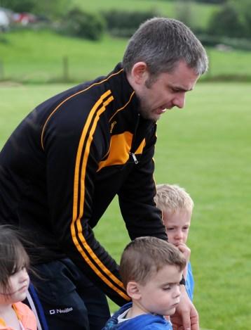 Naomh Padraig Camogie Club coach Paddy Hennessy who is a nephew of former Kilkenny legend Joe Hennessy