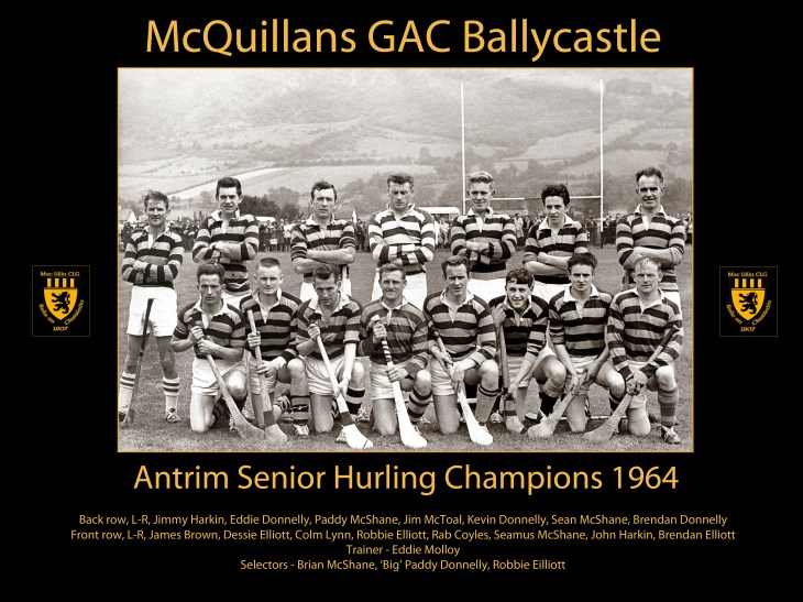 Ballycastle 1964-TEXT -crest