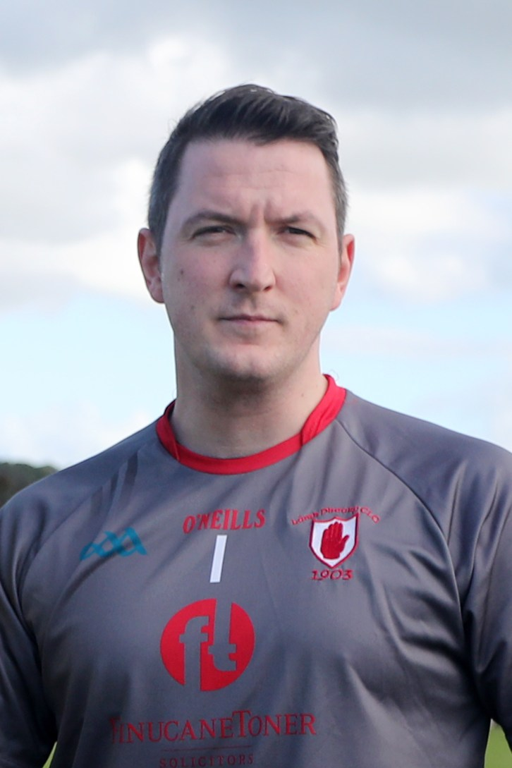 Team captain John Finucane made a series of top class saves