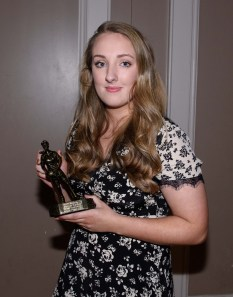 Ciara O'Neill was presented with the Senior Ladies Most Improved Player of the Year.